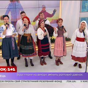 """Гурт """"Рожаниця"""" у студії """"Сніданку"""" заспівав в українських традиціях і розповів про кавер на """"Despacito"""""""