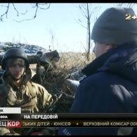 Неподалік Новотроїцького минулої ночі більше години тривав стрілецький бій