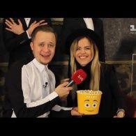 На кінопрем'єрі українські зірки співають і їдять попкорн