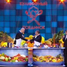 Андрій Парубій та Віталій Кличко у кулінарному поєдинку. Вечірній Квартал у Туреччині