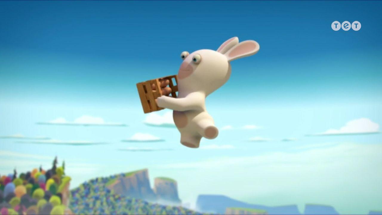З'їдені кролики - Шалені кролики: Вторгнення. 185 серія