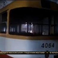 В Одесі загорівся трамвай з пасажирами, є постраждалі