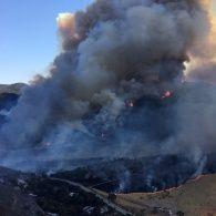 Каліфорнію охопили лісові пожежі