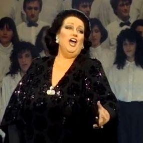 "Катерина Осадча побувала в гостях у Монсерат Кабальє й навчила її співати ""Многая літа"""