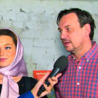 Мария Яремчук и Валерий Харчишин рассказали о съемках фильма «Легенда Карпат»