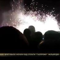В Івано-Франківську, під час відкриття головної ялинки міста, петарда влучила в 17-річну студентку