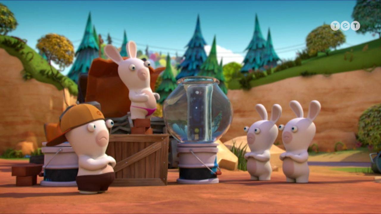 Кролики і риба - Шалені кролики: Вторгнення. 187 серія