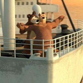 День кино - Маша и Медведь Серия 42