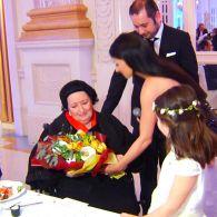 Монсеррат Кабалье устроила вечеринку в честь своего дня рождения в Киеве