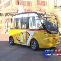 В Швейцарії тестують перший електричний автобус на автопілоті