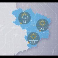 Прогноз погоди на вівторок, вечір 19 грудня