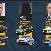 Депутати, прокурори, судді та митники також їздять на «євробляхах»