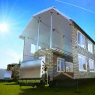 Хатинка на колесах: серед мандрівників набувають популярності будинки-трансформери