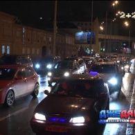 Затори на дорогах столиці сягнули 7 балів