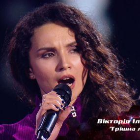 """Вікторія Ільчишена – """"Грішна любов"""" – вибір наосліп – Голос країни 8 сезон"""