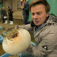 Дмитрий Комаров попробовал смертоносную рыбу фугу