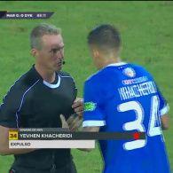 Марітіму - Динамо - 0:0. Відео вилучення Хачеріді