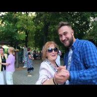 Як у Києві Руслан Ханумак просто неба танцював