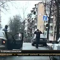 """У столиці просто на дорозі, серед білого дня намагалися захопити пасажирів """"Ланоса"""""""
