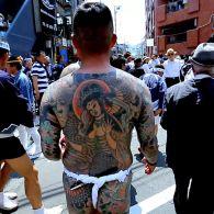 Фестиваль Сандзя-мацури или преступники в центре Токио