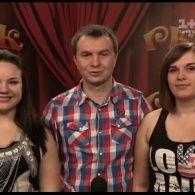 Трио из Львова показали смешные миниатюры. Рассмеши комика 9 сезон. 15 выпуск