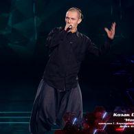 """Козак Сіромаха – """"Монах"""" – нокаути – Голос країни 8 сезон"""