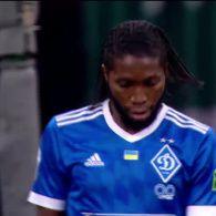 Динамо - Зірка - 1:0. Відео голу Мбокані