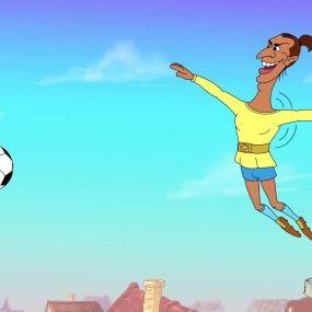 Козаки. Футбол - Швеція - Нові серії 2016 року - Український мультфільм