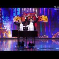 Братья Цицько за роялем. Юрмалето - 2016 от Квартала 95
