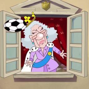Козаки. Футбол - Англія - Нові серії 2016 року - Український мультфільм
