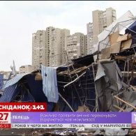 У Києві продовжують по-звірячому зносити МАФи
