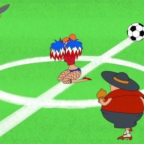Козаки. Футбол - Франція - Нові серії 2016 року - Український мультфільм