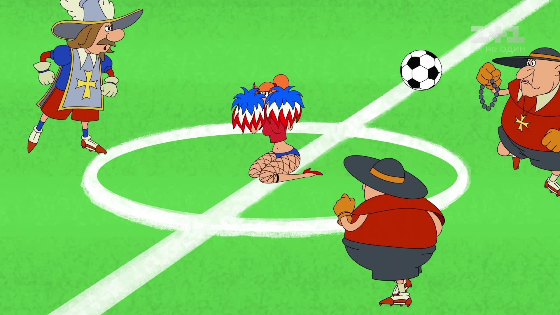футбол 1: Козаки. Футбол 1 сезон 1 серія онлайн на 1+1 Video