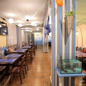 До та після. Ресторан Східний експрес у Києві. На ножах