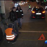 Аварія на перехресті вулиць Богатирська та Північна у столиці