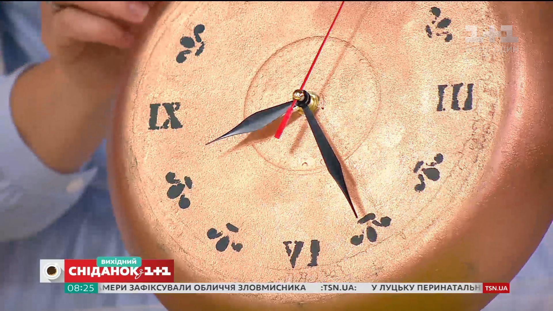 Часы из старой сковородки 3