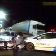 У Львові п'яний водій тікав від патрульних і стверджував, що за кермом був прибулець