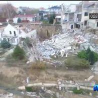 Курортне місто Чорноморськ йде під землю