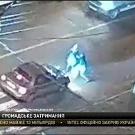 Пішоходи у Кам'янському затримали водія, який збив на переході мати з дитиною