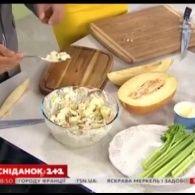 Салат з дині – Правильний Сніданок