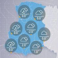 Прогноз погоди на вівторок, 16 листопада