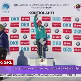 Биатлонистка Валентина Семеренко возмутилась поведением своего тренера