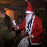 Журналисты «Грошей» поздравили бойцов АТО с Днем Святого Николая