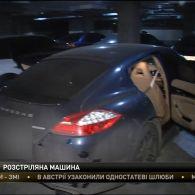 В столиці розстріляли позашляховик Дениса Гармаша