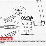 Платіжки за газ третини українців суттєво зростуть