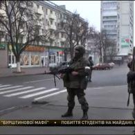 Розбірки з автоматами, БТРами та зеленими чоловічками у центрі окупованого Луганська