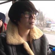 В тролейбусі в Черкасах назви зупинок оголошуються англійською