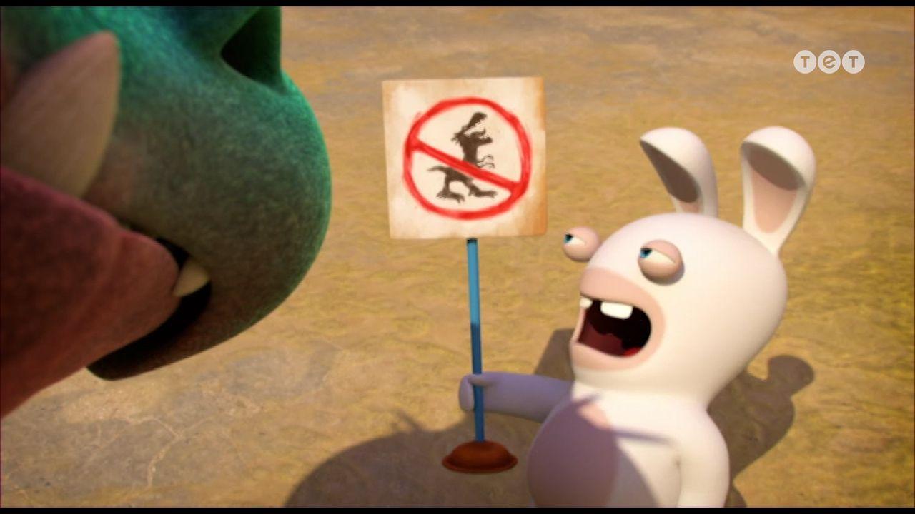 Кролик безпеки - Шалені кролики: Вторгнення. 228 серія
