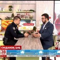 Начальник управління патрульної поліції Києва у гостях Сніданку з 1+1