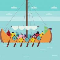 Унікальний козацький човен Чайка - наш!